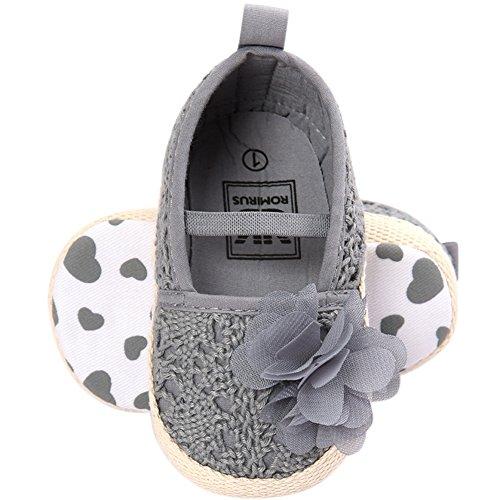 Frog Mary Shoes Grau Baby Lauflernschuhe Jane Fire Mädchen qCwpdpB
