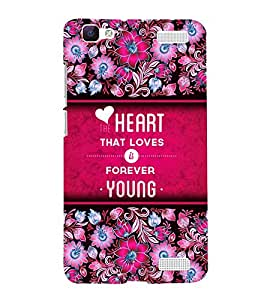 Fuson Designer Back Case Cover for Vivo V1 Max ( Love Quotes Inspiration Emotion Care Fun Funny )