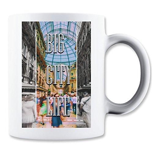Serie Cupola (Life | Series | Milan Town | Popular Words | Osom Quotes | Cool T Shirt | Nice to | Super | Beautiful Landscape | Yolo Swag Klassische Teetasse Kaffeetasse)