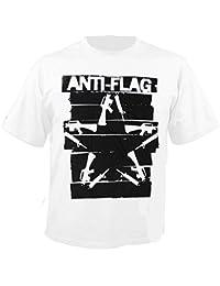 ANTI-FLAG - Duct Tape Gun Star - T-Shirt