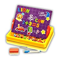 Kidoloop Kids Creative Learning Multifunctional Educational Toy With Magnetic Alphabets & Numbers