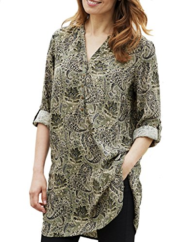 TopsandDresses Camisas - Para Mujer Verde Light Olive Green 48