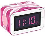 BigBen - AU327991 - Radiowecker RR30 - Union Jack in Pink