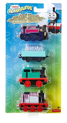 Thomas & Friends DXT78 Adventures Diamond Run Engine Toy Pack