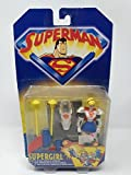 Kenner - Superman, La serie animata - Supergirl con la speciale corazza d'attacco aereo! - Action Figure