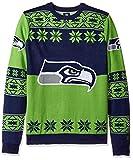 Klew NFL Big Logo Pullover Größe L Seattle Seahawks
