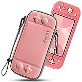 tomtoc Custodia Protettiva Sottile per Nintendo Switch Lite, Custodia da Trasporto Portatile Originale Brevettata con 8 cartu