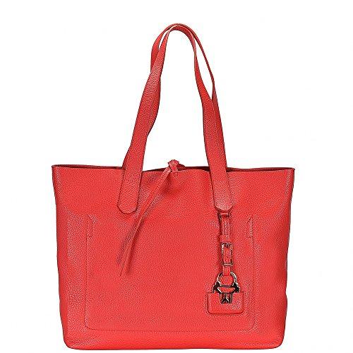 Patrizia Pepe borsa tote 29 cm Bright Red