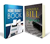 Monthly Bill Organizer Bundle - Two Great Monthly Bill Organizer Books: Includes a Home Budget Book and Monthly Bill Organizer with Over 100+ Pages Combined - Perfect for Home or Work Office Purposes and Absolutely Accountant Approved with 90 Day Money-back Guarantee