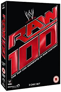 WWE: RAW - Top 100 Moments [DVD]