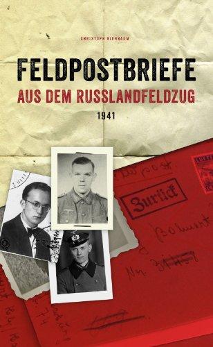 Feldpostbriefe aus dem Russlandfeldzug 1941 (1941 Blank)
