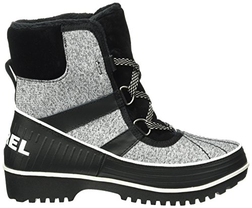 Sorel Tivoli II, Stivaletti Donna Nero (Black, Sea Salt 010Black, Sea Salt 010)