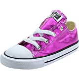 Converse Chuck Taylor All Star Metallic Infant Magenta Glow Textile 22 EU