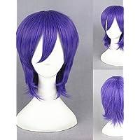 BBDM 14inch Kuroko no basket-murasakibara Atsushi purple anime rettilineo parrucche cosplay