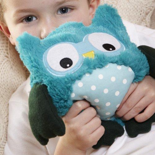Hooty Turquoise Heatable Owl