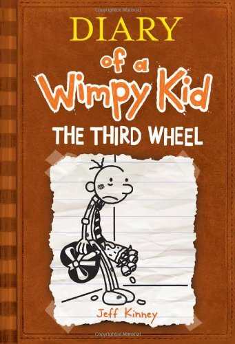 [ DIARY OF A WIMPY KID THE THIRD WHEEL BY KINNEY, JEFF](AUTHOR)HARDBACK
