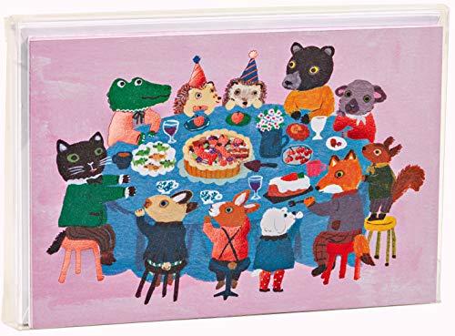 Dinner with Friends Big Notecard Set