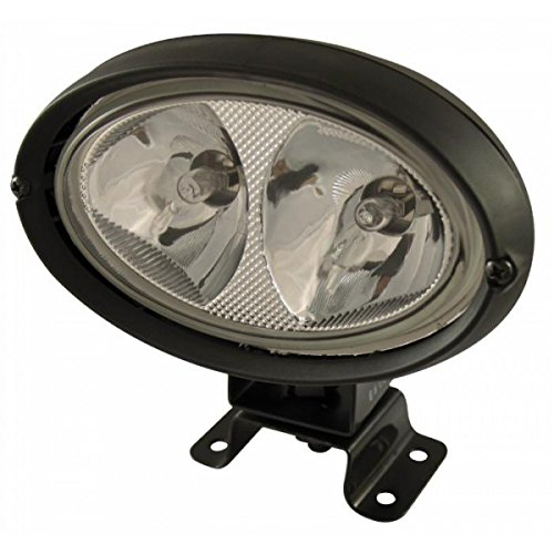 Oval Flutlicht (Arbeitsscheinwerfer oval doppelt Lichtstrahls von AMA 165x 162mm)
