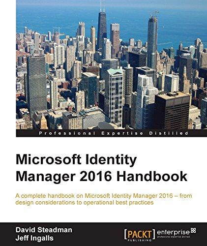 Microsoft Identity Manager 2016 Handbook (English Edition)
