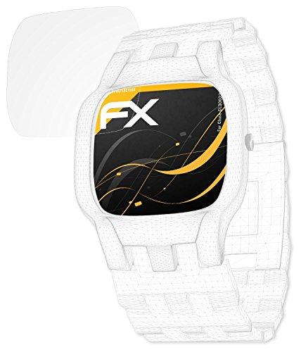 atFoliX Panzerfolie kompatibel mit Cluse CL30023 Schutzfolie, entspiegelnde und stoßdämpfende FX Folie (3X)