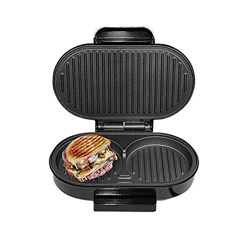 Panini Maker, Ahomi Sandwichpresse, BBQ Steak Hamburger Elektro Grill Fleisch R?stermaschine Ei Bratpfanne Brot Ofen Fr¨¹hst¨¹ck