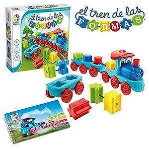 Smart Games-El Tren de Las Formas, Multicolor (Lúdilo SG040ES)