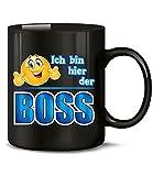 ICH BIN HIER DER BOSS 4859(Schwarz)