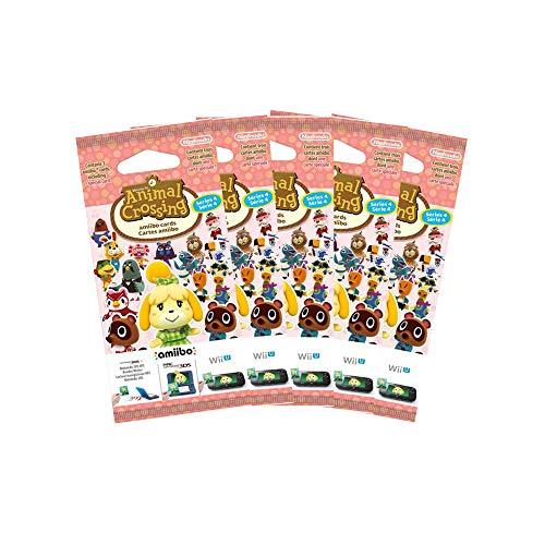 5x Amiibo Karten 3 Stück Animal Crossing Happy Home Designer Vol. 4