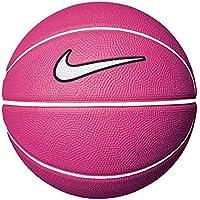 b11a8e06c5f Nike Mini Pink White Basketball White Tick Rubber NBA Training Small Size 3