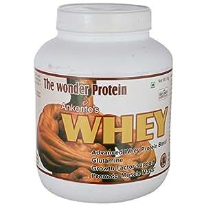 Ankerite Whey Protein Natural Powder,Glutamine (Chocolate) - 1000 g