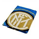 Asciugamano Ufficiale F.C. Inter 2018 Telo Mare Internazionale Spugna Puro Cotone 70x140 cm