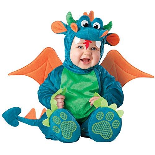 InCharacter - Drachen-Kostüm für Babys - 12-18 - Monster High Kostüm Kleinkind