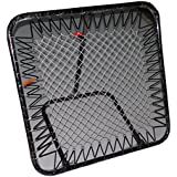 ROXAN NEW (100 CM X 100 CM) FOOTBALL RE BOUNDER/ BALL PITCH & THROWING PRACTICES TRAINER / ADJUSTABLE ANGLE PITCH TRAINER/BALL RETURN NET/CRICKET NET