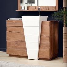 Amazon meuble teck salle bain