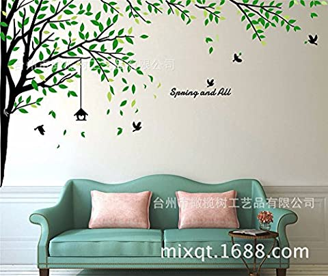 Xzpy129 Modern And Minimalist Style With Wood Sorok Large Living Room Bedroom Hand-Painted Wall,180*290Cm