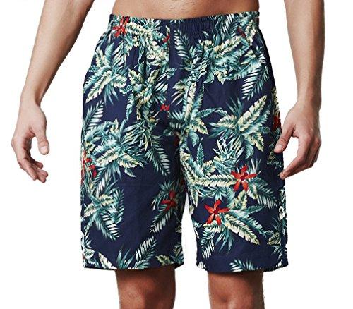 BININBOX® Herren Shorts Knielang Badeshorts Badehose Surfshorts beach Pants Surfwear Sommer 56614