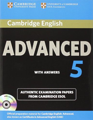 Cambridge English Advanced 5 Self-study Pack (Student's Book with Answers and Audio CDs (2)) (CAE Practice Tests) por Cambridge ESOL