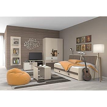 Jugendzimmer komplett set kinderzimmer schlafzimmer m bel ferdy i k che haushalt - Amazon kinderzimmer ...