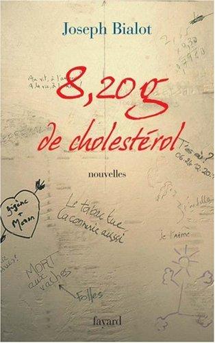 8,20 g de cholestérol