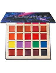 DE'LANCI Rouge à lèvres Lip Gloss Palette Maquillage Set Cosmétique et peut utiliser Face Body Paint Peinture...