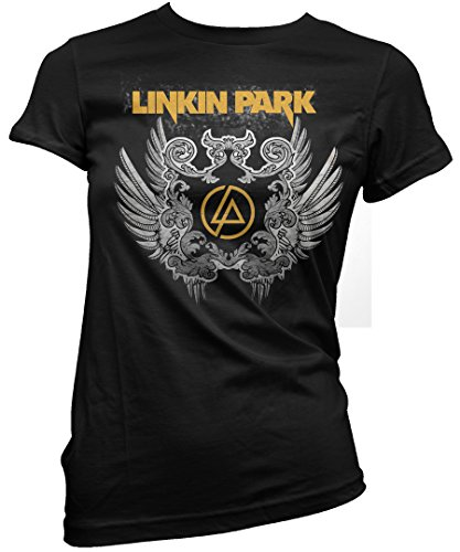 LaMAGLIERIA Camiseta Mujer Linkin Park - Wings Artwork - Camiseta...