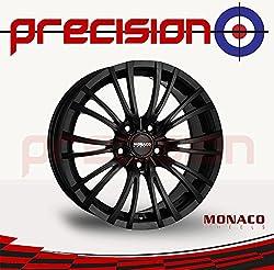 Precision Full set of 17 Alloy Wheels For Ḿercedes-Benz B-Class W246, W242 [2011-2018] Hatchback   HAIRPIN Dull Black   V17755112E42DB73HAI-24864