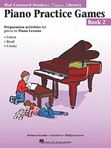 Piano Practice Games Book 2: Hal Leonard Student Piano Library