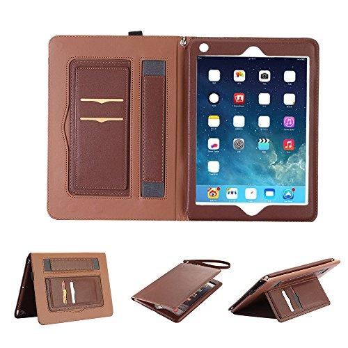 Coque iPad Pro 10.5 Pouces,Elecfan Ultra mince iPad Pro 10.5 en cuir étui de protection Smart Shell Housse, affaire Style Fit PU en cuir Folio Stand Housse en étui de protection en cuir synthétique Bookstyle