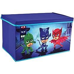 Fun House 712874bagagliaio a giocattoli per bambini, pieghevole, PP/cartone/Armatura/Plastica, Blu, 56,5x 36x 31cm