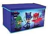 Fun House 712874baúl para juguetes plegable para niños, PP/cartón/acero/plástico, azul,...