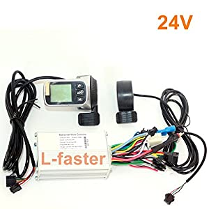 51hU8Acw NL. SS300  - WUXING L-faster 250W 350W Electric Bicycle Brushless Motor Controller Thumb Throttle LCD display And EBS Brake