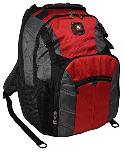 swiss-gearr-sherpa-16-acolchado-para-ordenador-portatil-mochila-escuela-viaje-bag-red