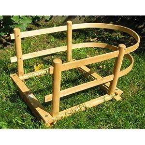 Schlitten-Lehne Kindersitz Holz 43x60x30 cm Erzgebirge