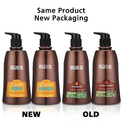 + Skymore, Set di shampoo e balsamo di Olio di Argan marocchino, trattamento naturale per capelli secchi o colorati, cura per tutti i tipi di capelli prezzo